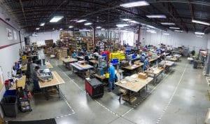 custom control panel manufacturing plant