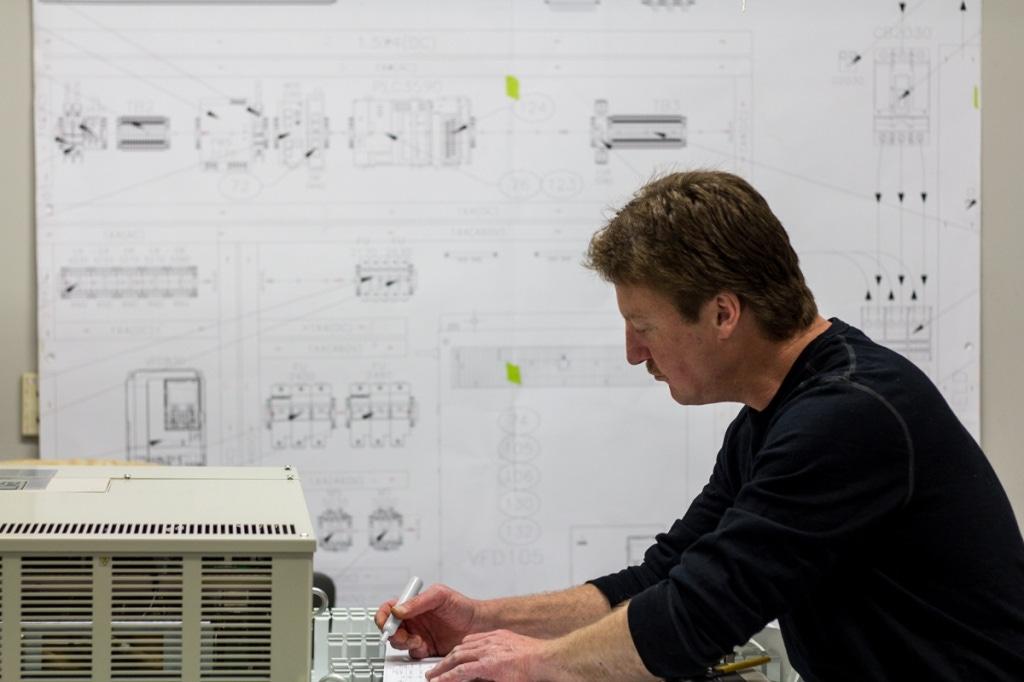 custom control panel design