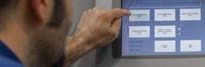 programming control panel touchscreen controls
