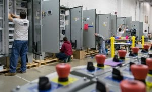 control panel manufacturing stages