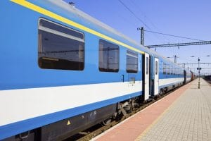 SCRRA transportation train