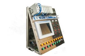 functional small custom control panel for training