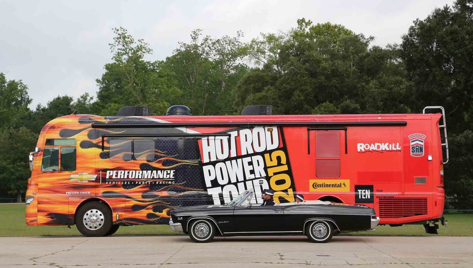Don Lavrenz on Hot Rod Power Tour