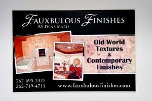 Fauxbolous Finishes commercial signage