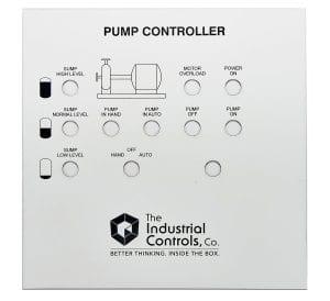 ICC sump pump equipment identification label
