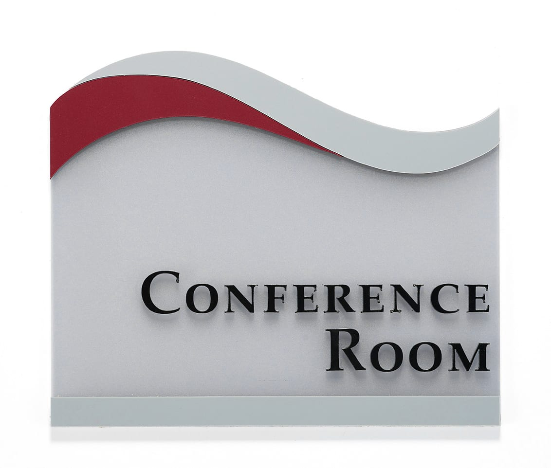 ICC Conference room sign