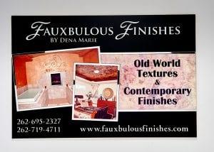 Fauxbulous finishes banner