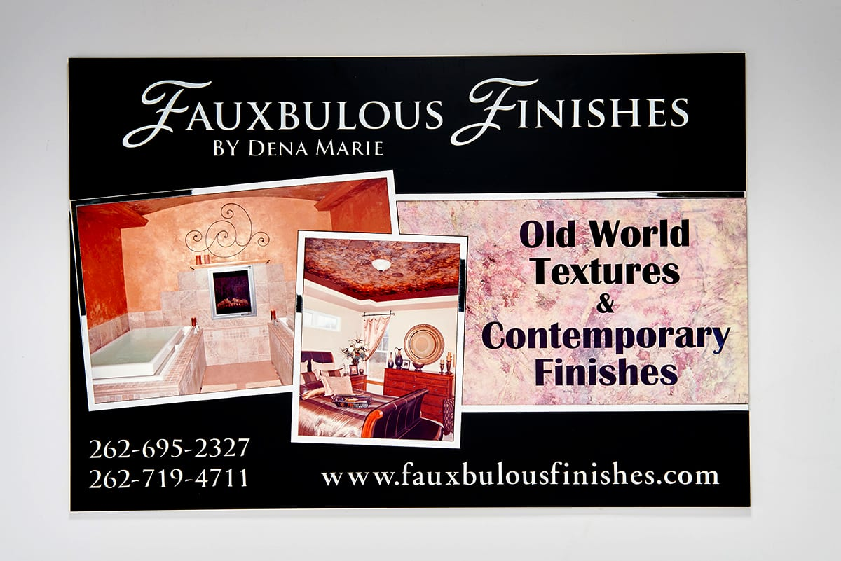 Fauxbulous finishes banner