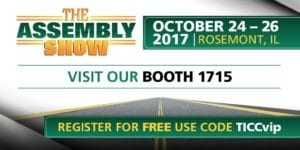 Meet Our Team at the 2017 Assembly Show