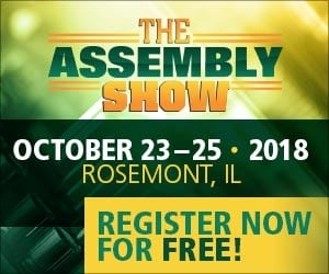 Register for the Assembly Show now for free!