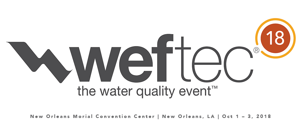weftec 2018: The Water Quality Event